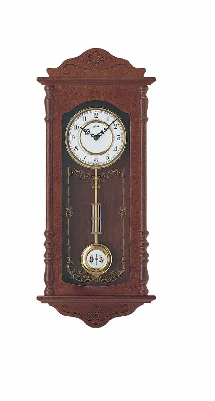 Ams 7013 1 Wooden Wall Clock