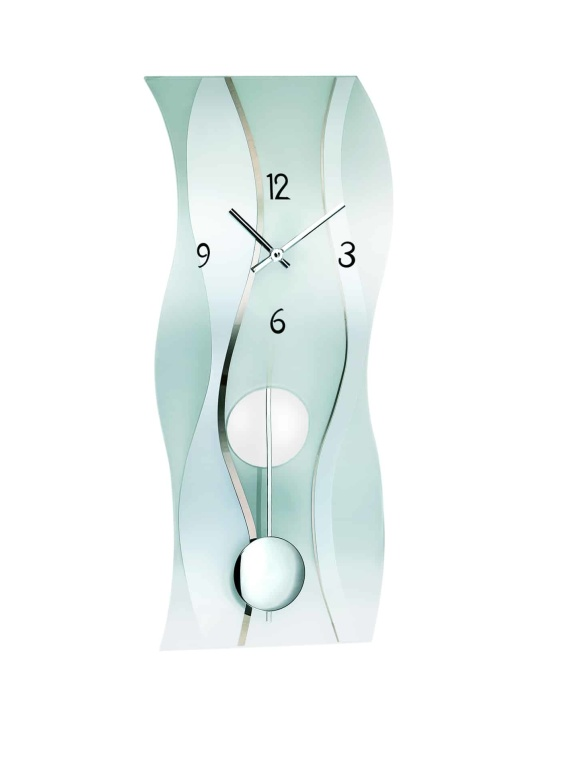 AMS 7246 glass wave clock