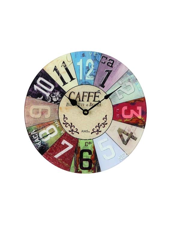 AMS 9424 Round Quartz Wall Clock