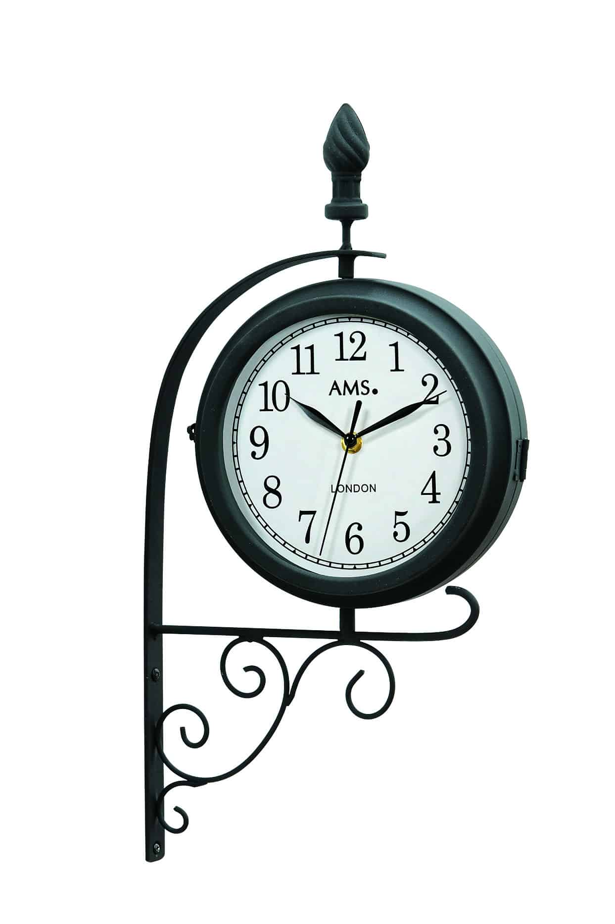 AMS 9433 Station Style Garden Clock