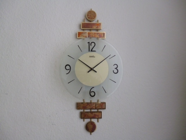 AMS 9435 Quartz Wall Clock