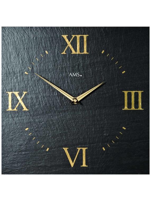 AMS 9517 Slate Wall Clock