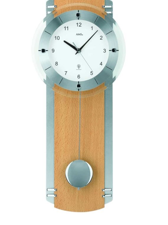 AMS 5245/18 Radio Control quartz wall clock