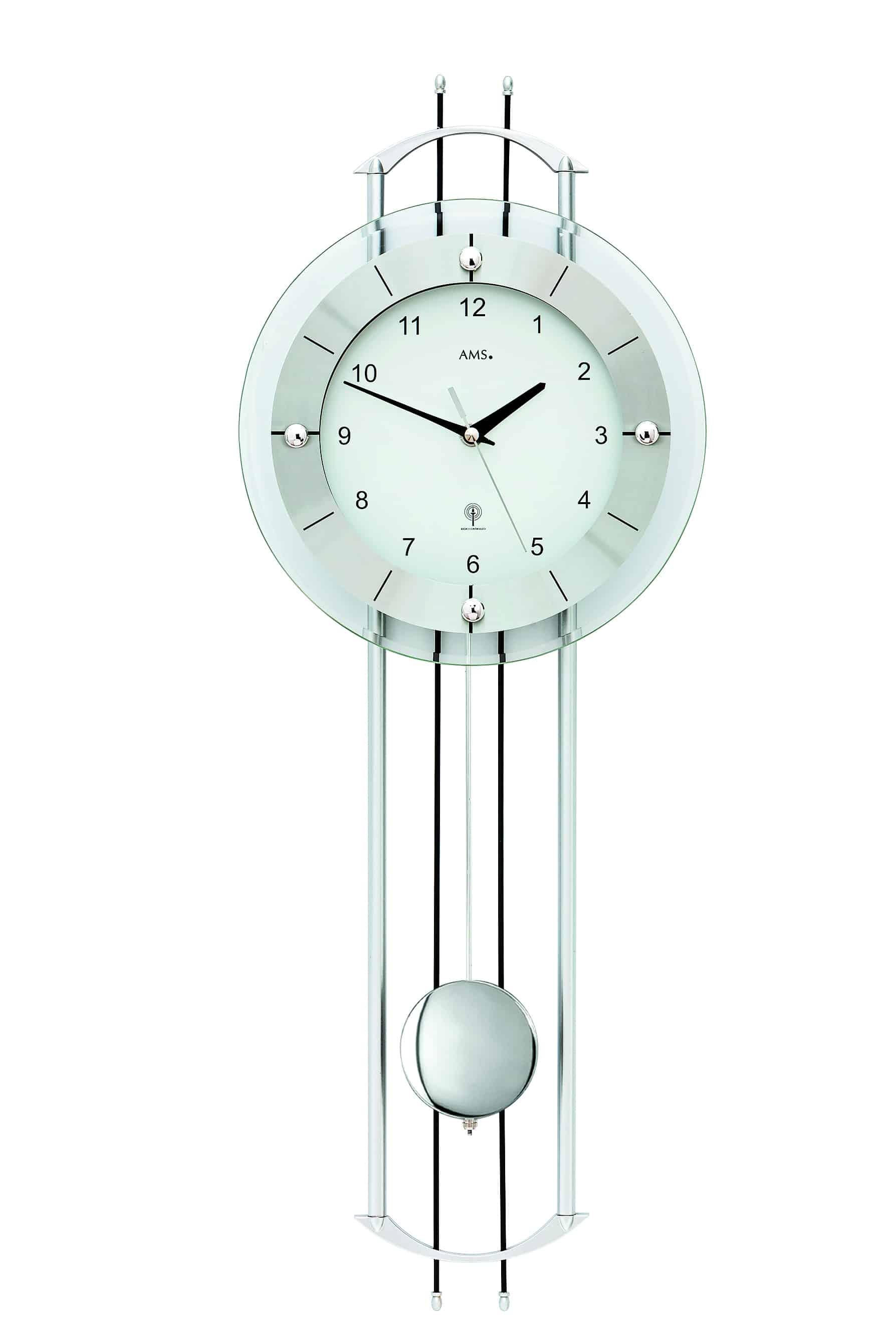 Ams 5248 Radio Control Quartz Clock Ams Clocks