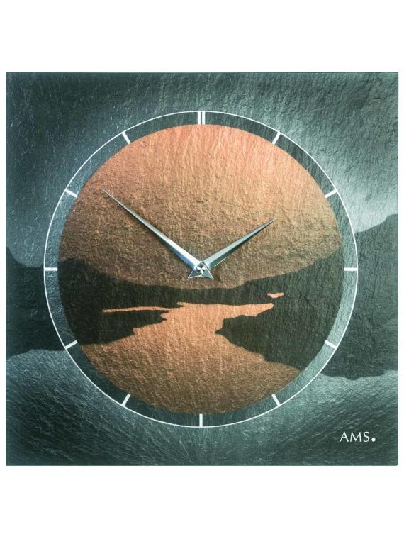 AMS 9513 Quartz Slate Clock